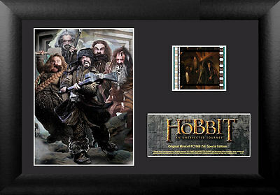Film Cell Genuine 35mm Framed & Matted The Hobbit An Unexpected Journey 5968