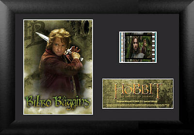 Film Cell Genuine 35mm Framed & Matted The Hobbit An Unexpected Journey 5969