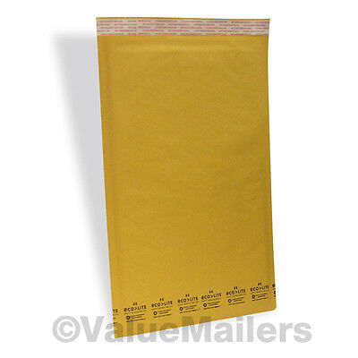 150 50 #6 12.5x19 KRAFT BUBBLE MAILER ENVELOPE +100 10x13 POLY MAILER BAGS