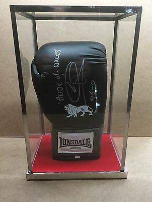 Full Size Boxing Glove - Glass Top Upright Display Case Only