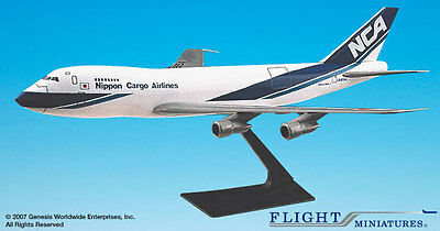 Flight Miniatures Nippon Cargo Airlines Boeing 747-100/200 1:250 Scale Mint
