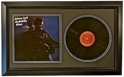 Johnny Cash Signed Autographed Album Rockabilly Blues Jsa Certified Authentic