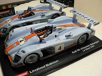 Carrera Exclusiv Audi R8 Gulf 20484 limited