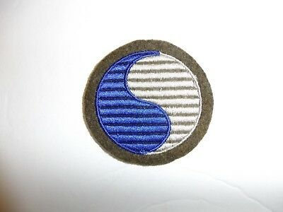 b1344 US Army 1930's-WW 2 patch 29th Infantry Division Blue Gray PA14
