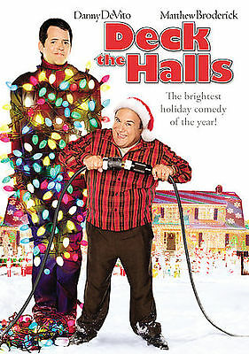 DECK THE HALLS (DVD, 2007, Dual Side) NEW