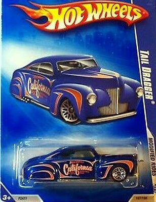 Hot Wheels 2009 Modified Rides 157 Tail Dragger BLUE