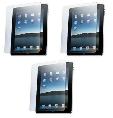 lot of 3  LCD Screen film Protector For Apple iPad 1 1st