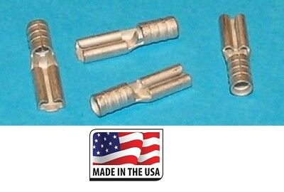 100 16-14 to 22-18 Ga STEP DOWN NON-INSULATED SEAMLESS BUTT TERMINAL BARE USA