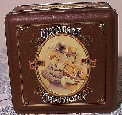 Hershey Chocolate Commemorative Advertising Tin Early 1900's Retro