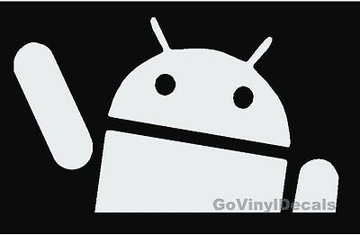 waving android sticker decal vinyl  illmotion JDM