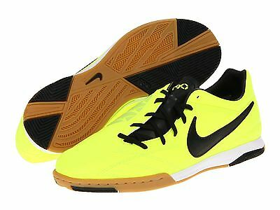 37a952db1e1 Nike Total 90 Shoot IV IC Indoor 2012 Soccer Shoes Brand New Volt - Black