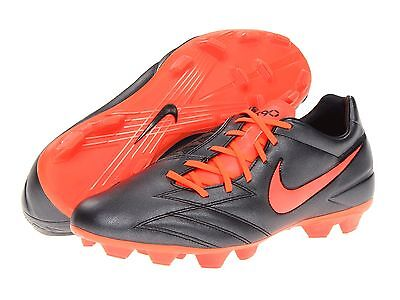 Nike Total 90 T90 Shoot IV FG Soccer Shoes Brand New Black - Orange d958f0504ae5