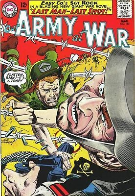 OUR ARMY AT WAR 152 Good, 4th all Sgt. Rock Ish, Joe Kubert, DC Comics 1965