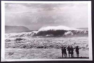 """Banzai Pipeline Haleiwa 12 X 18"""" Unmounted Photo Signed By Photographer"""