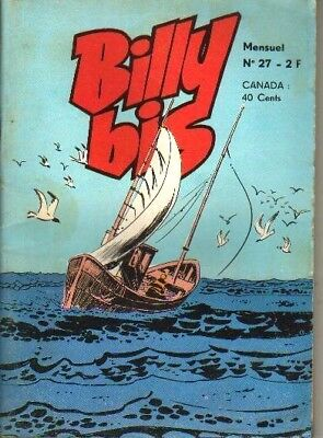 Billy Bis N°27 De 1974