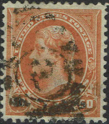 #275 1895 50 Cent Bureau Issue Used-Vf/Xf--Handstamp Cancel