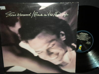 "Steve Winwood ""Back in the High Life"" LP in Stereo"