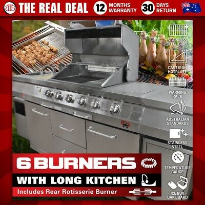 BULL BBQ 100% Stainless Steel BBQ Barbeque Barby Outdoor Kitchen Sink