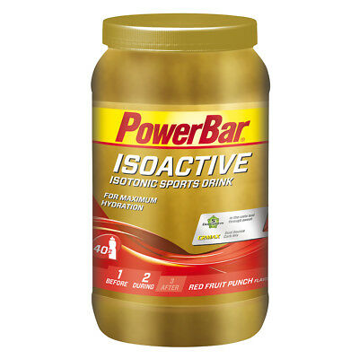 (12,70€/kg) PowerBar Isoactive Isotonic Sports Drink 1320g Dose + Bonus