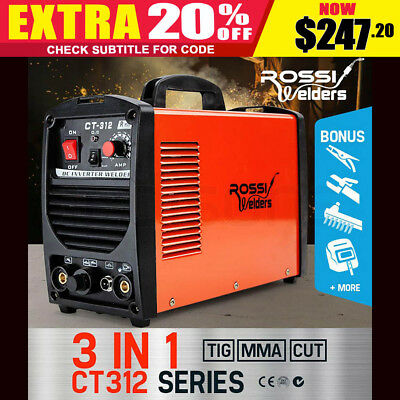 NEW CT-312 Plasma Cut TIG MMA Welder Inverter Cutter Portable Stick Welding