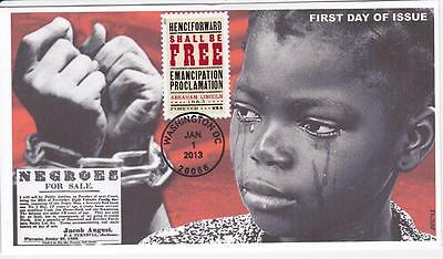 Jvc Cachets - Emancipation Proclamation Black Heritage First Day Cover Fdc #2