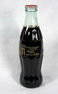 Coke Bottle Full: Coca-Cola Olympic City Atlanta Musee Olympique Lausanne