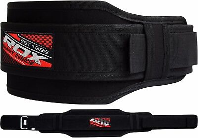 RDX Weight Lifting Belt Gym Training Back Support Power Lumbar Pain Fitness AB B