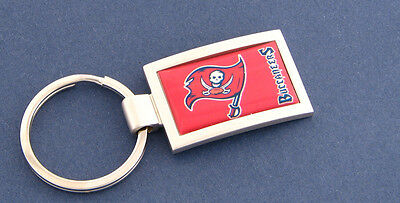 Tampa Bay Buccaneers Curved Keychain Key Chain NFL New