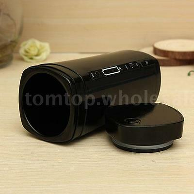 Rechargeable USB Heating Self Stirring Mixing Tea Coffee Cup Mug Warmer Lid New