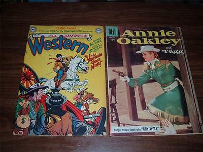Golden Age Western collection---lot of 24 comic books