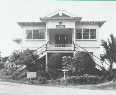 "Rare Haleiwa Jodo Mission 1960's? 8X10"" Hand Printed Silver Halide Photograph"