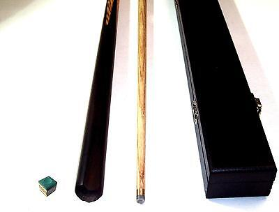 2 Piece 57 Inch Ash Pool/snooker Cue With Hard Case