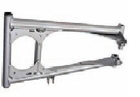 New Yamaha Lower A-Arm Lh Silver Sled Warrior Rx-1 Er