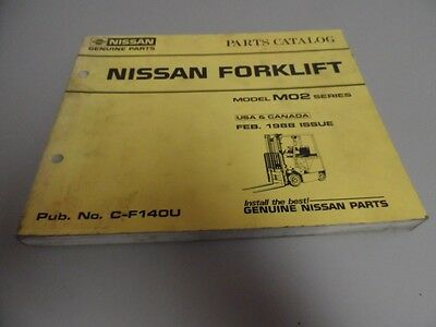 Nissan 1988 m01 fork lift truck parts catalog manual 5000 picclick nissan 1988 m02 fork lift truck parts catalog manual fandeluxe Choice Image