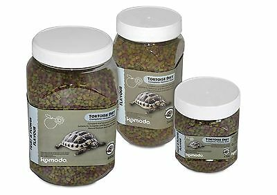 Komodo Holistic Tortoise Food Fruit & Flower flavour - dried pellet foodstuff