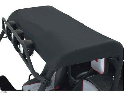 Kawasaki Teryx Bimini Top Stylish Rain Sun Protection Roof Black Roll Cage Cover