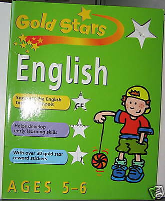 GOLD STAR ENGLISH AGES 5-6 by BETTY ROOT & MONICA HUGHS