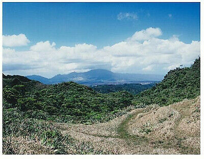 MT KAALA VIEW FROM SACRED FALLS OAHU 8.5 x 11 INCH UNMOUNTED BORDERLESS GICLEE