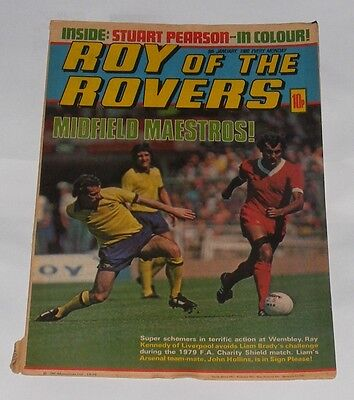 Roy Of The Rovers Comic 5Th January 1980 John Hollins Of Arsenal