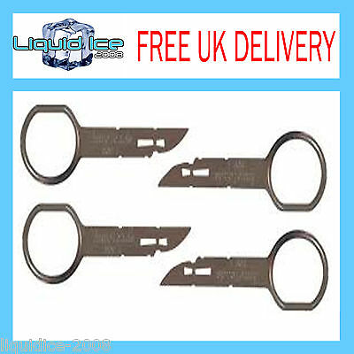 Ford Focus 2005 To 2007 Pins Tools 5000C 6000 Set Cd Stereo Removal Keys 132