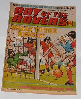 Roy Of The Rovers Comic 20Th December 1980 Paul Goddard Of West Ham United