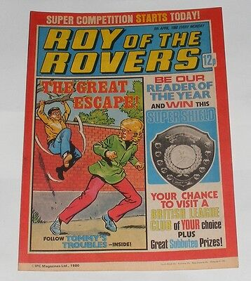 Roy Of The Rovers Comic 5Th April 1980 David Armstrong Of Middlesbrough