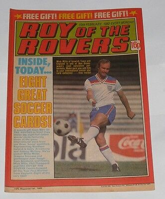 Roy Of The Rovers Comic 13Th February 1982 Frank Lampard Of West Ham United