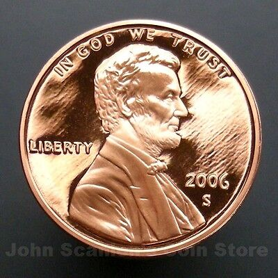 2006-S Lincoln Memorial Cent Penny - Gem Proof Deep Cameo U.S. Coin