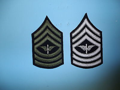 b1561 1930's-WW2  US Army unofficial  Army Air Corp Master Sergeant chevron