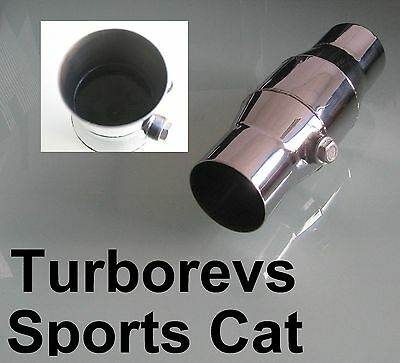 "2.5"" Universal Stainless Steel 200 Cell High Flow Sports Cat Catalytic Conveter"