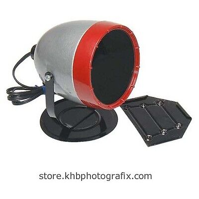 Refurbished Kodak Model B Safelight with 1A-type Red Filter and Wall Bracket