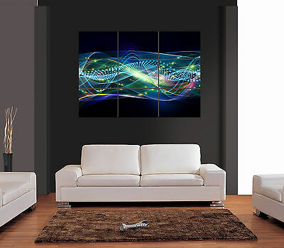 ABSTRACT Ref 06 UNIQUE A3 Multipage Giant Wall Art Print Picture Poster