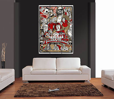 THE BIG LEBOWSKI NEW Stunning Giant Wall Art Print Picture Poster