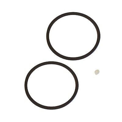 Two Victor Victrola & HMV No.4 Reproducer/Soundbox Diaphragm Gaskets